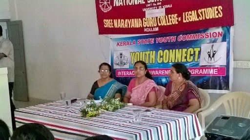 An Orientation Programme of Kerala State Youth Commission (NSS)